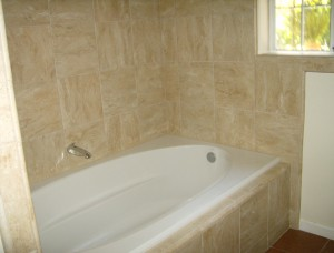 Stone Tile Bath